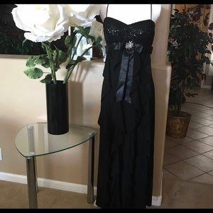 Black Dress Betsy £ Adam . Size M.